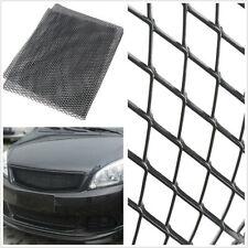 Black Aluminium Universal Automobiles Racing Grille Net 3mm*6mm Mesh 100cm*30cm