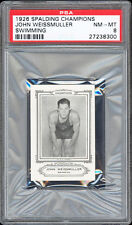 """1926 Spalding Champions """"Sports Company of America"""" Johnny Weissmuller PSA 8+"""