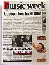MUSIC WEEK MAGAZINE  8 JULY 1995  GEORGE MICHAEL    LS