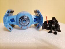 "Star Wars Galactic Heroes Darth Vader's Tie Fighter 6.5"""