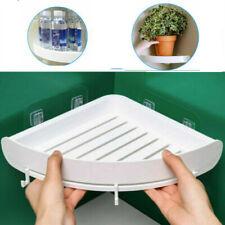 Triangular Shelf Caddy Shower Corner Bath Storage Rack Bathroom Organizer Holder