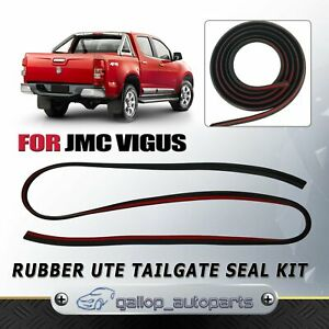FOR JMC VIGUS TAILGATE SEAL KIT 3M RUBBER UTE DUST TAIL GATE SEAL