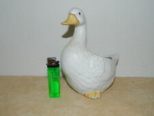 Homco Home Interior White Porcelain Duck Planter #8886