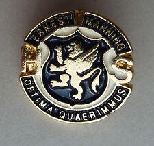 Ernest Manning High School Calgary Alberta Optima Quaerimmus Lapel Hat Pin