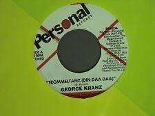 80's dance soul GEORGE KRANZ  Trommeltanz Din Daa Da  PERSONAL 19804 M- Listen!!