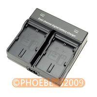 LP-E6 Dual Battery Camera Charger For Canon EOS 70D 60D 7D 6D 5D II