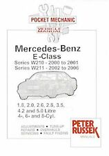 Mercedes Benz E Class Petrol W210 '00-'01 W211 '02-'06