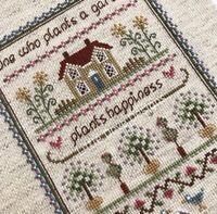 Little Dove Garden Sampler 14ct Cross Stitch Kit