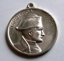 Médaille Empereur Napoléon Ier, diamètre: 40 mm, poids: 7 grs en aluminium.