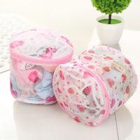 Women Washing Net Bag For Lingerie Wash Mesh Zipper Laundry Bra Delicate HosB YK