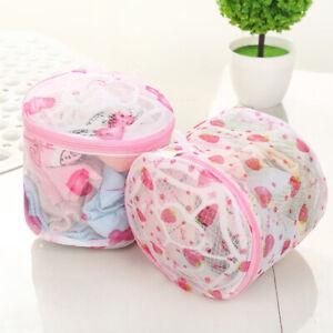Women Washing Net Bag For Lingerie Wash Mesh Zipper Laundry Bra Delicate Hos Kt