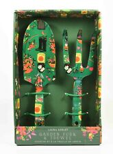 Lovely Mint in Box Unused Laura Ashley Garden Fork & Trowel Set