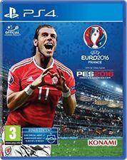 UEFA Euro 2016 Pro Evolution Soccer  PS4  (Unknown format)