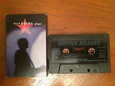 cassette. Bryan Adams.'Star'  4 track single. 1996. card sleeve.