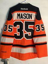 Reebok Premier NHL Jersey Philadelphia Flyers Steve Mason Orange Alt sz L