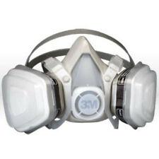 3M 53P71 Half Facepiece Organic Respirator Size: Large. Free Shipping.