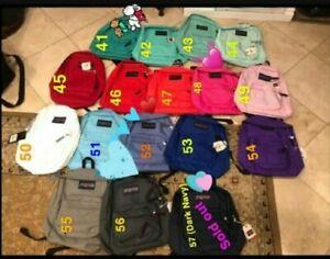 Brand New Jansport backpacks