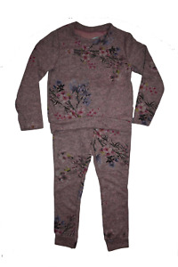 Girl's Flower Suit Tracksuit Outfit 2 Piece set 4 to 14 years