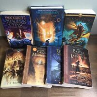 Rick Riordan Book Lot - Percy Jackson Apollo Olympus Magnus Chase Red Pyramid