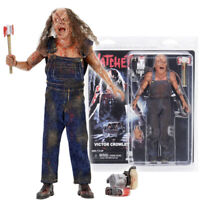 """NECA Hatchet Victor Crowley 8"""" Clothed Action Figure 1:12 Scale New In Stock"""