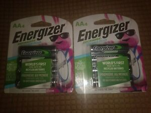 Energizer Recharge Universal AA 2300 mAh Rechargeable Batteries, 8 count