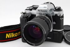 [NEAR MINT] Nikon FA 35mm SLR Body + Zoom Nikkor 35-70mm w/ MD-15 from JP #509