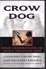 Paperback, CROW DOG, Four Generations of Sioux Medicine Men, USED