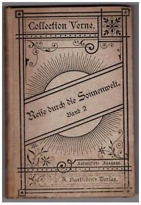 Collection Verne 26: Reise durch die Sonnenwelt. Band 2. Hartleben's Verlag