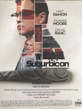 Suburbicon Digital HD Copy no Blu-ray Or DVD Canadian Digital HD Code Matt Damon