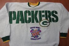 Vintage NFL Green Bay Packers Super Bowl XXXI Champions Stitched Sweatshirt XL