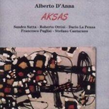 ALBERTO D'ANNA - AKSAS (IMPORT) NEW CD