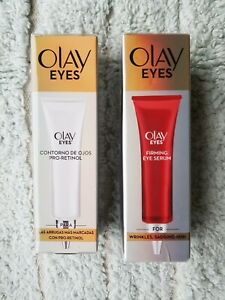 New Olay Eyes Pro Retinol Eye Treatment & Firming Eye Serum 15mlx2