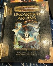 D&D Dungeons and Dragons Unearthed Arcana 3.5