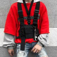 Portefeuille radio talkie-walkie sac multi-poches harnais militaire réglable BR