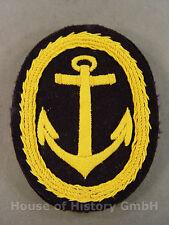 67880 Kriegsmarine: Abzeichen zum Sportanzug für Offiziere , gelber Anker