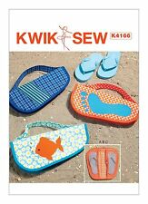 Kwik Sew SEWING PATTERN K4166 Flip Flop Cases