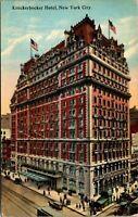 Knickerbocker Hotel Broadway 1910 New York City Postcard
