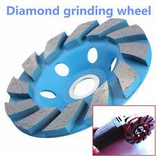 "Diamond Segment Grinding CUP Wheel Disc Grinder Concrete Granite Stone 4 Inch 4"""