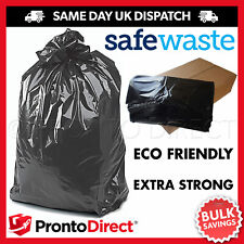 More details for extra strong heavy duty black bin liners rubbish bags waste refuse sacks
