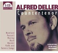 Alfred Deller - Countertenor - A Collection of His Early Recordings [CD]