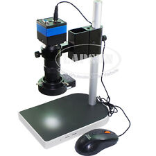2.0MP Digital Video Industry Microscope VGA Camera C-mount Lens Mouse Operation