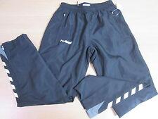 Ladies Hummel Black Rainproof Hockey Sport 3/4 Length Trousers - Size 8 #20B136