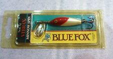 Blue Fox Vibrax Minnow Spin 3/16oz #1Super Rare Color-(Red Head) Free Shipping!