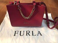 FURLA Women's Mini Hand Bag Pink Leather 226180