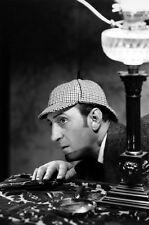 Basil Rathbone Sherlock Holmes Profile In Deer Stalker Cap 11x17 Mini Poster