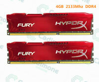 Für Kingston HyperX 4 GB 8 GB 16 GB PC4-17000 DDR4 2133 MHz DIMM Red Desktop RAM