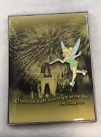 Walt Disney World Tinker Bell Park Magnet 3d Disney Parks Souvenir Night Day