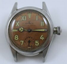 1940's Rolex Oyster Royal California Salmon Dial Ref. 3121 Stainless Steel Watch