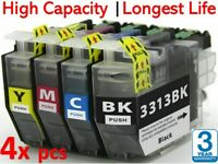 4x Generic LC3313 ink set for brother MFC-J890dw J491dw LC3311 DCP-J772dw