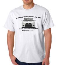 Magliette da uomo bianche Gildan in misto cotone